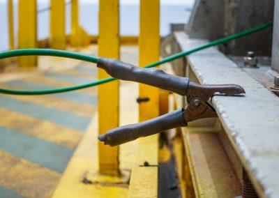 DANGER: Électricité statique et Travail à chaud