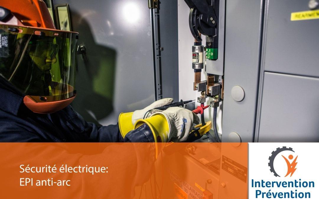 Sécurité électrique: EPI anti-arc