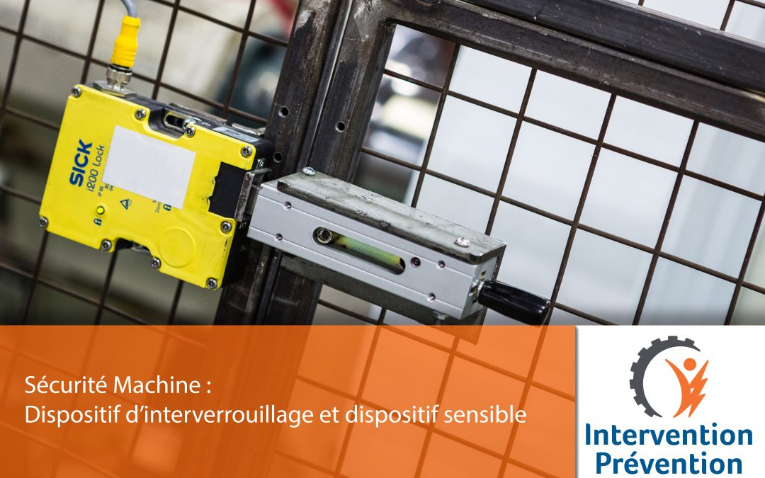 Dispositif d'interverrouillage et dispositif sensible