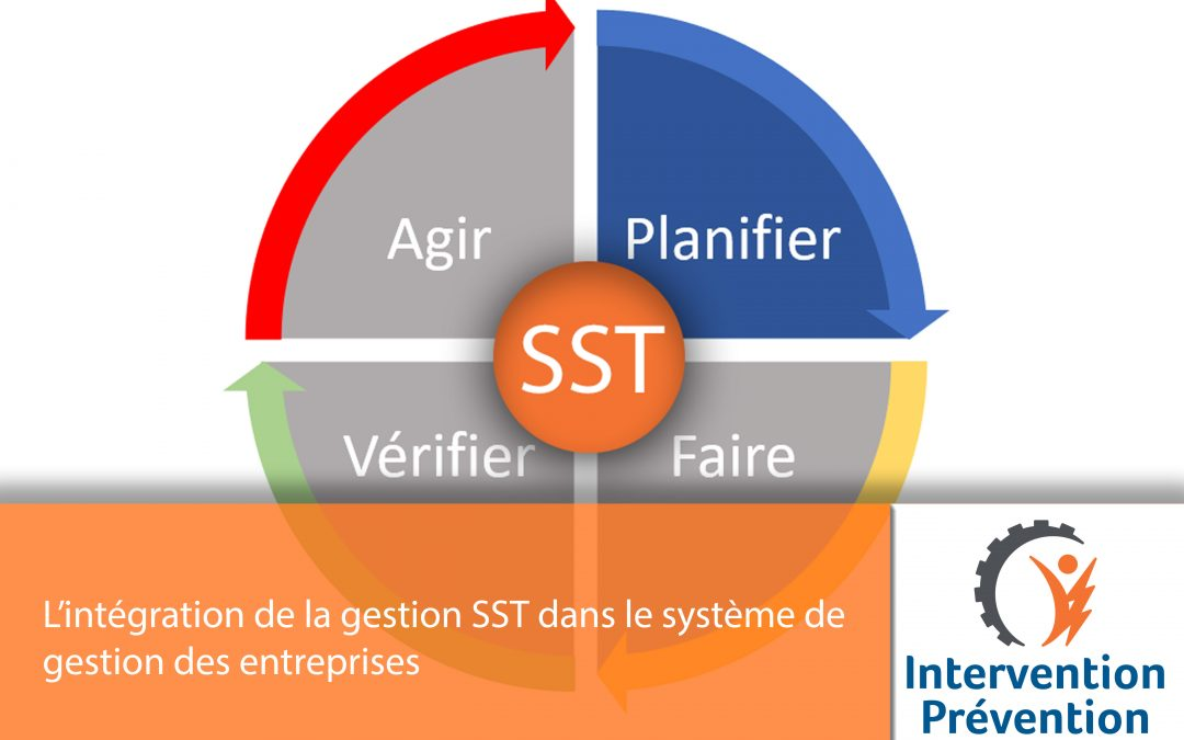 L'intégration de la gestion SST dans le système de gestion globale des entreprises
