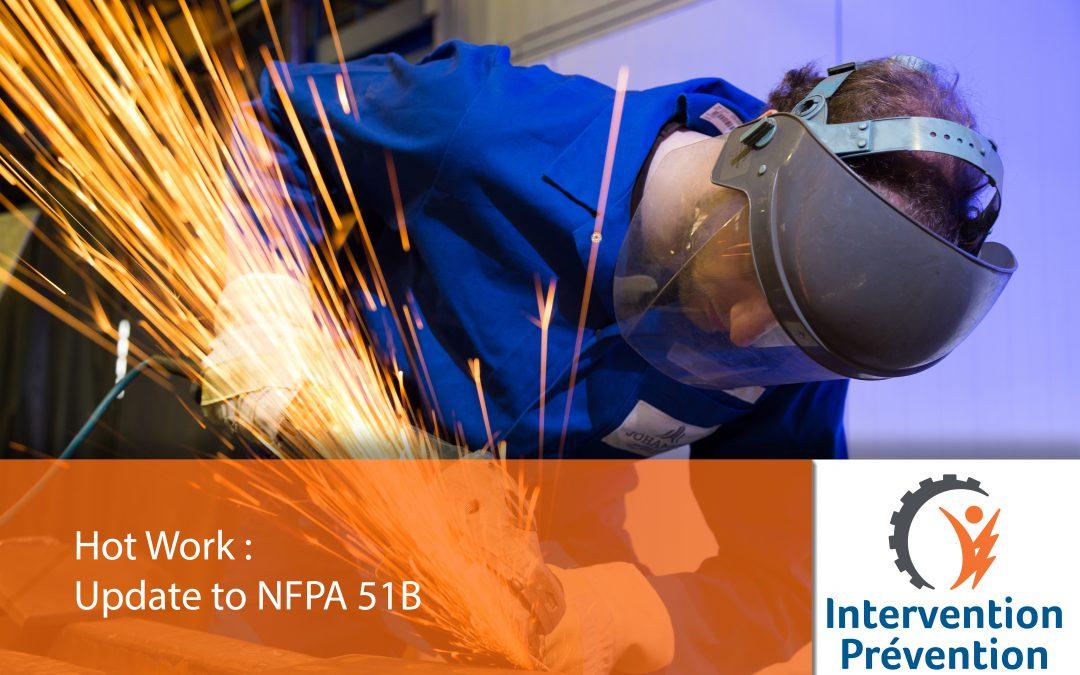 Update to NFPA 51B