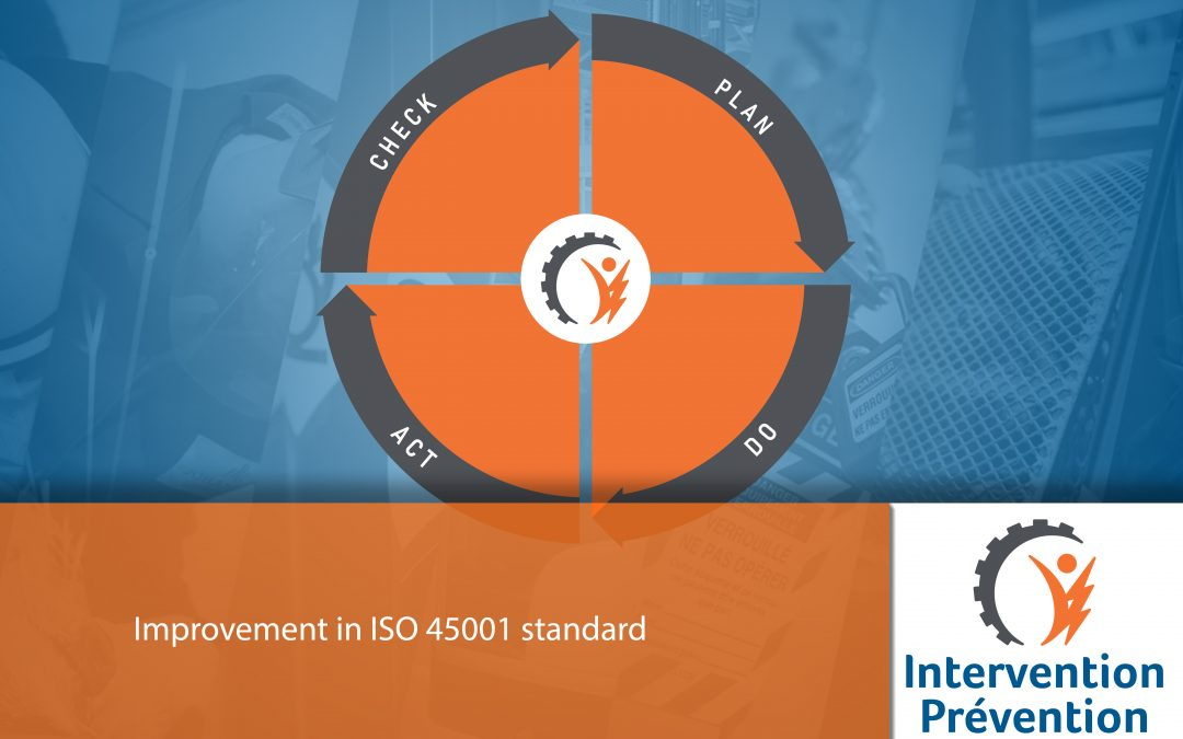 Improvement in ISO 45001 standards