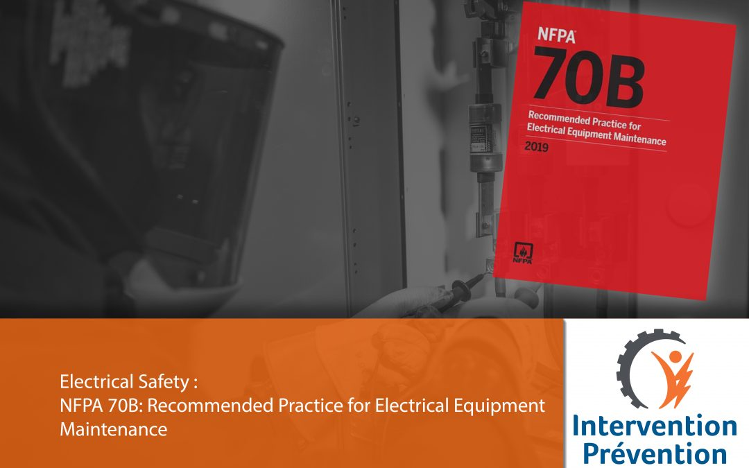NFPA 70B: Recommended Practice for Electrical Equipment Maintenance