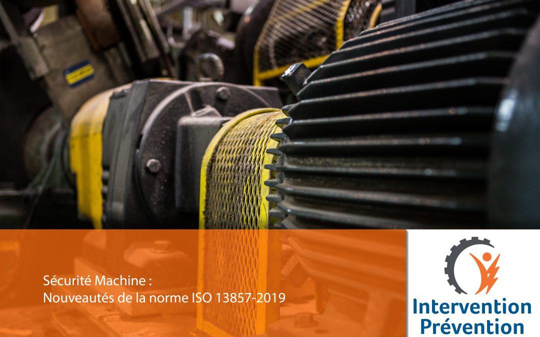 Protecteurs : Nouveautés de la norme ISO 13857-2019