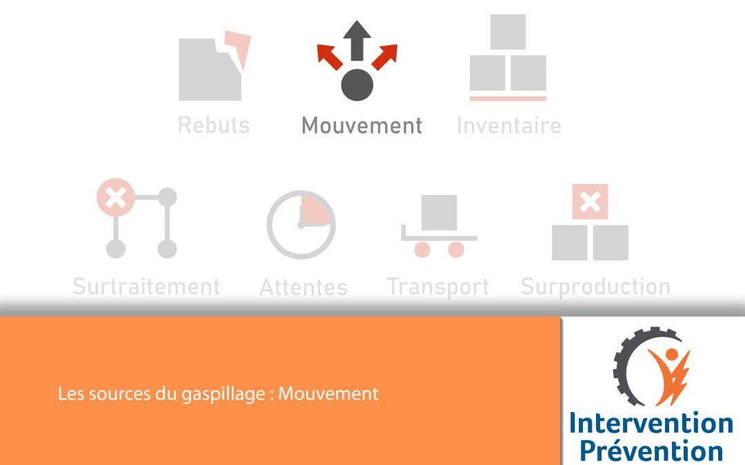 Les sources du gaspillage : Les mouvements inutiles