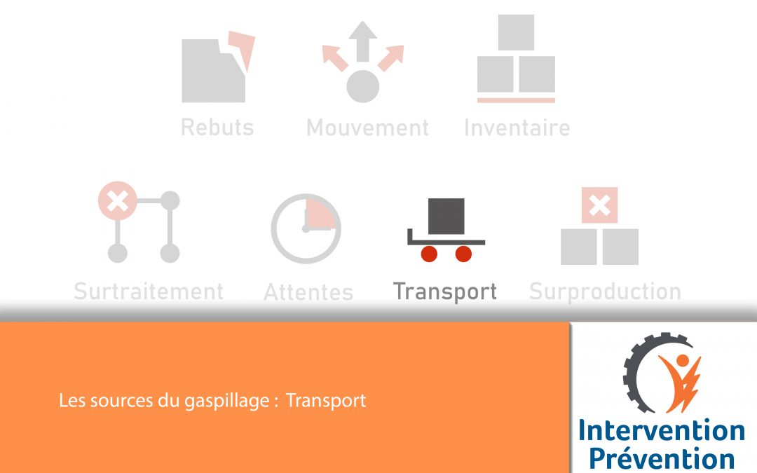 Les sources du gaspillage : Transport