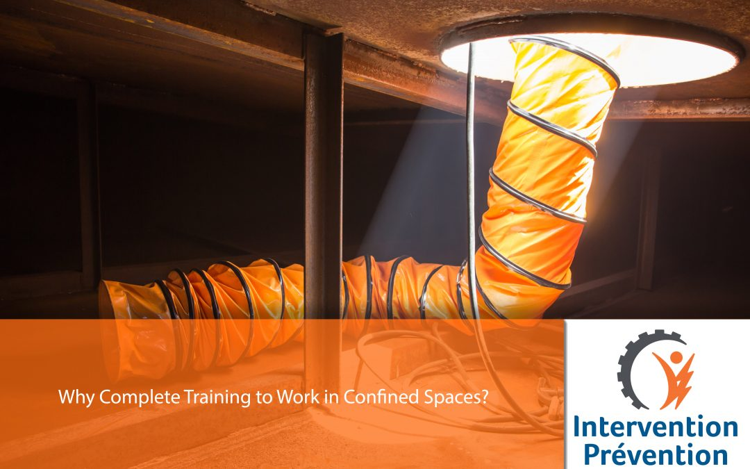 Why Complete Training to Work in Confined Spaces?