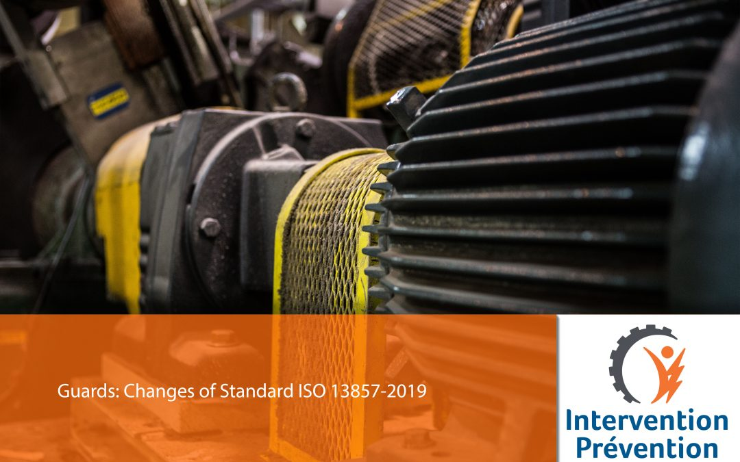 Guards: Changes of Standard ISO 13857-2019