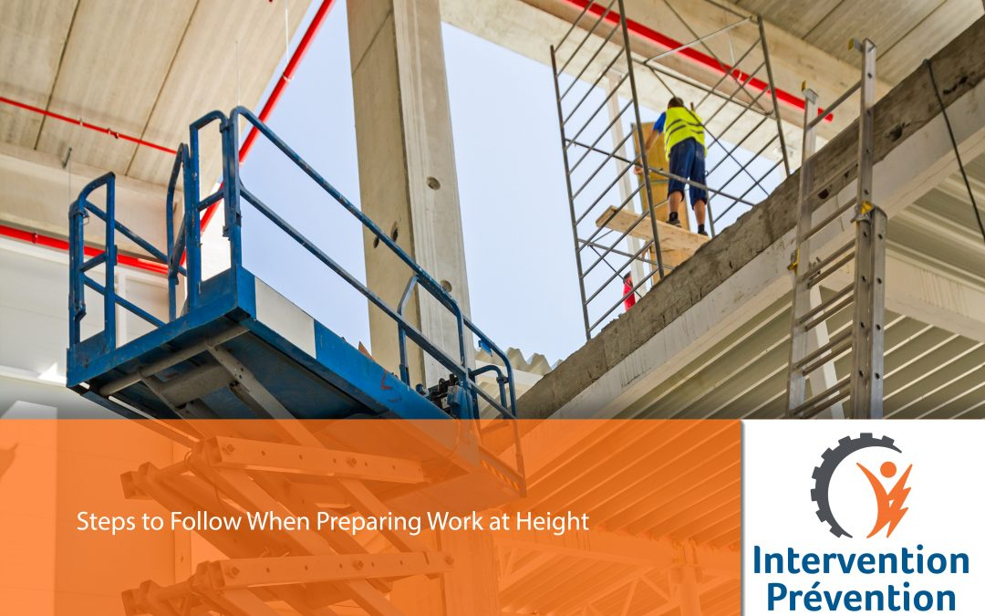 Steps to Follow When Preparing Work at Height