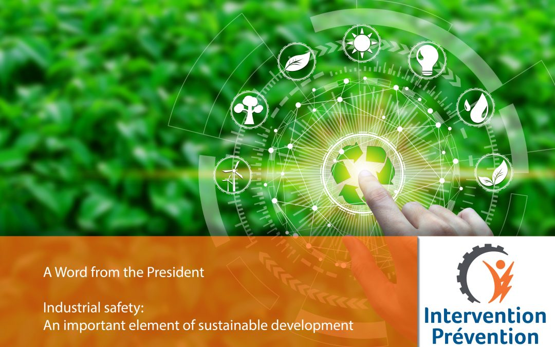 Industrial safety: An important element of sustainable development